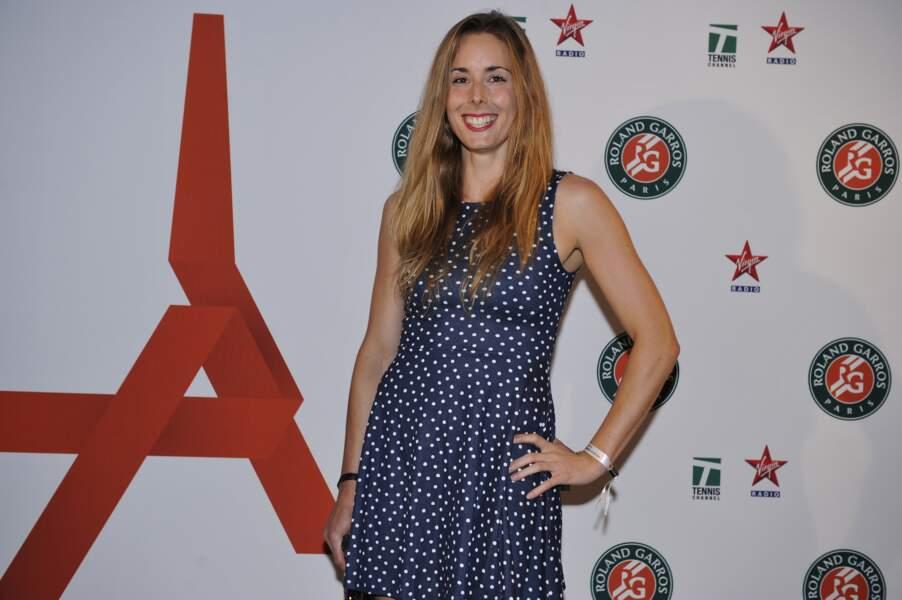 La ravissante Alizé Cornet