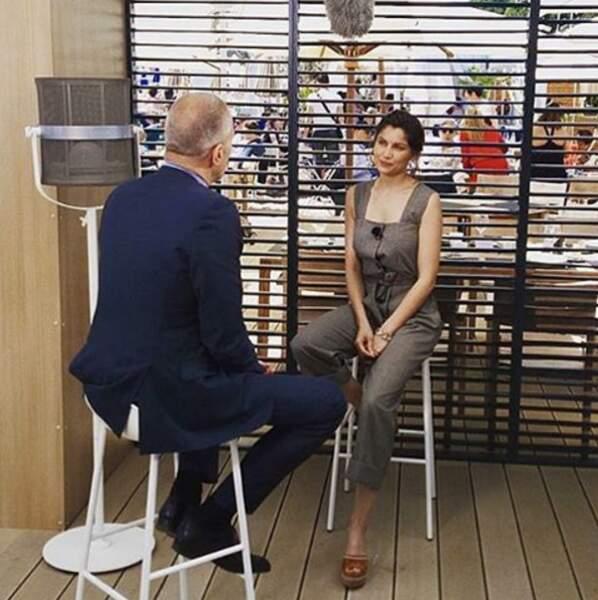 Laetitia Casta en interview avec Laurent Weil