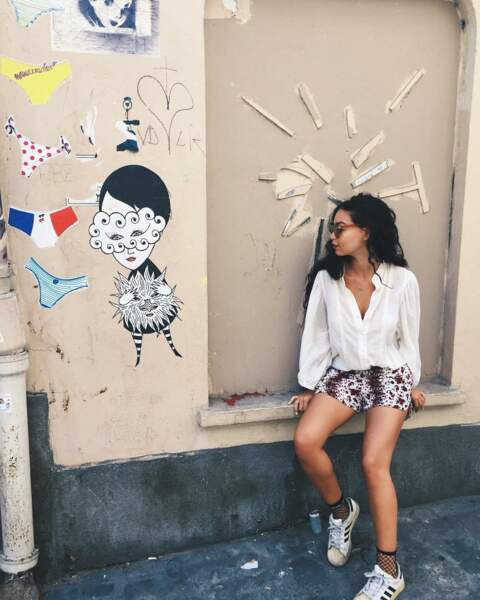 Mais Alice Révérend sait aussi savourer les charmes de Montmartre, à Paris