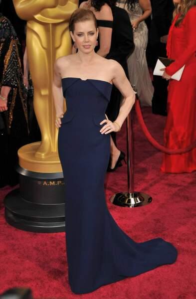 Amy Adams, très femme fatale, aux Oscars 2014