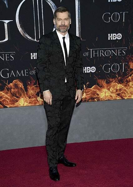 Jaime Lannister (Nikolaj Coster-Waldau) très chic !