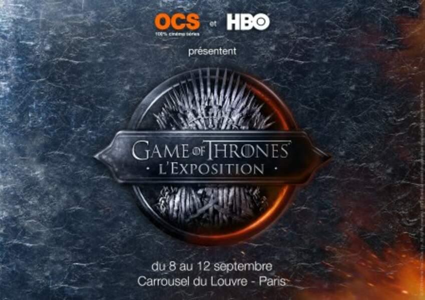 Dès ce mardi, en journée portes ouvertes, puis sur réservation, se tient à Paris l'expo Game of Thrones