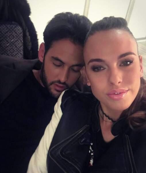 Nouveau couple de la télé-réalité : Vanessa Lawrens et Gabano.