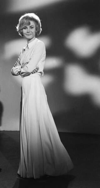 Michèle Torr se bat pour le Luxembourg en 1966 et pour Monaco en 1977