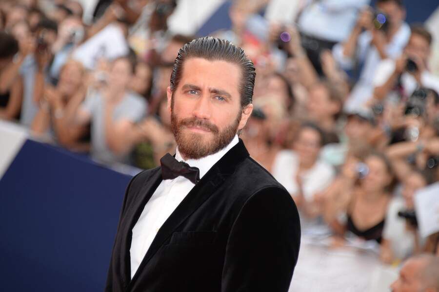 L'acteur Jake Gyllenhaal, venu présenter le film catastrophe Everest