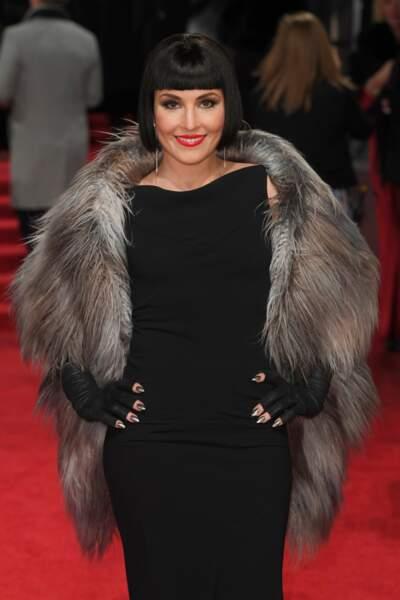 Même sur tapis rouge l'actrice est sublime