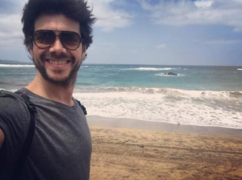 Un peu de tourisme : Alvaro Morte de La Casa de Papel nous a fait voir la mer.