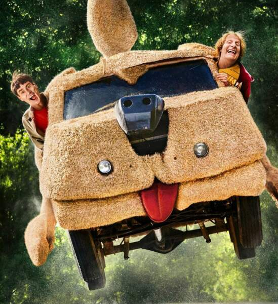 Le camion chien des deux trublions de Dumb and Dumber
