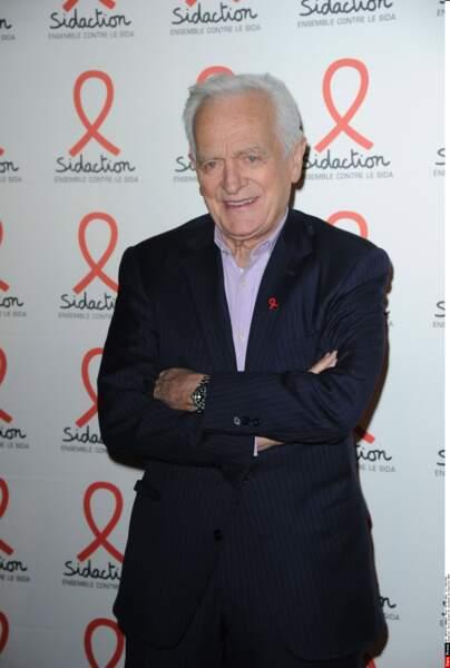 Philippe Labro lors de la soirée de lancement du Sidaction 2016