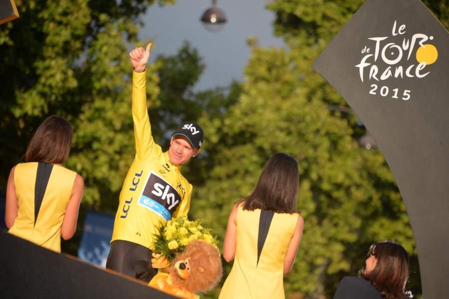 Chris Froome, numéro 1 du Tour (au cas où vous ne le sauriez pas)