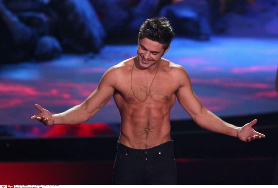 Zac Efron est décidément toujours aussi sexy