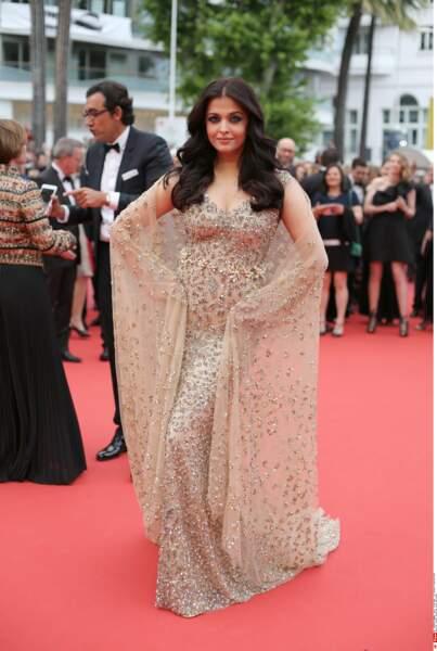 L'actrice indienne Aishwarya Rai Bachchan