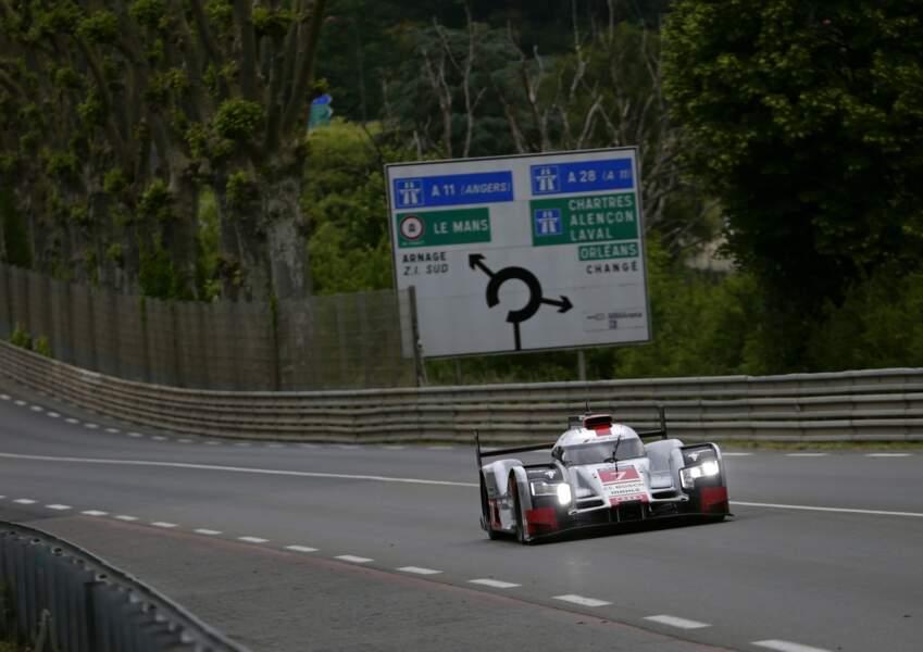 Loïck Duval (Audi n°8) et Benoit Tréluyer (n°7) sont les deux pilotes français engagés dans l'équipe.