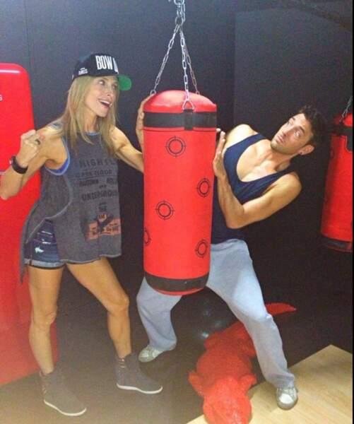 Et on termine par Tonya Kinzinger qui aime aussi la boxe