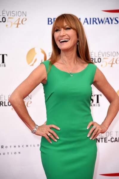 L'actrice est membre du jury du Festival de Télévision de Monte-Carlo