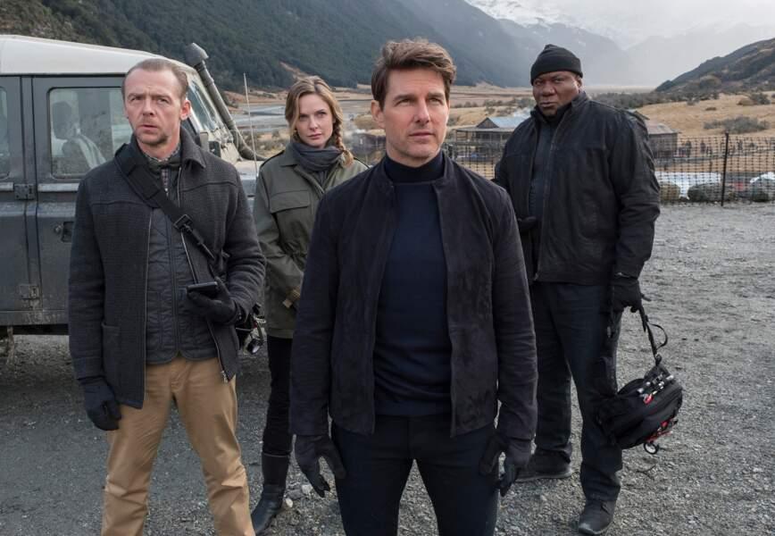 Une équipe de Mission Impossible bien rodée autour de Ethan Hunt (Tom Cruise).e