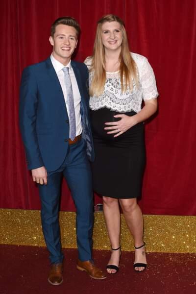 La sportive Rebecca Adlington et Harry Needs, mariés depuis 2014.