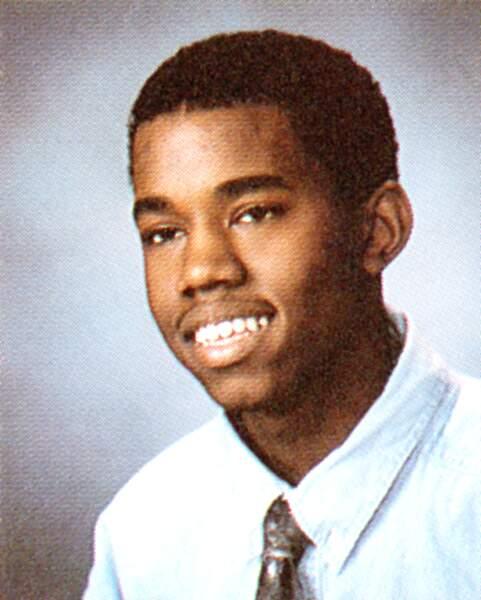 Kanye West en 1995