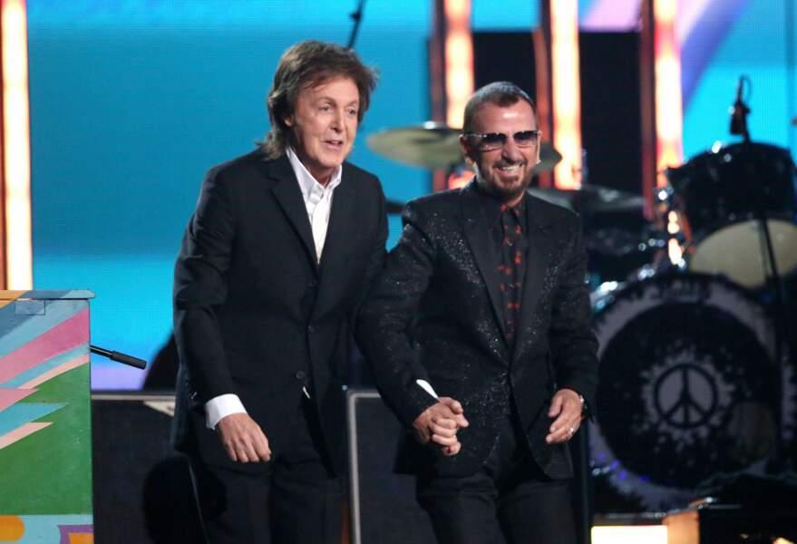 Paul McCartney et Ringo Starr ont reformé la moitié des Beatles le temps d'une prestation