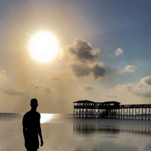 ... Il a passé le 1er de l'an à Zanzibar. Pas mal !