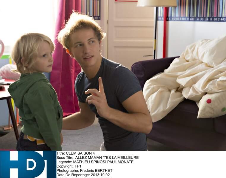 Mathieu Spinosi a incarné pendant 4 saisons Julien, le père de Valentin dans Clem