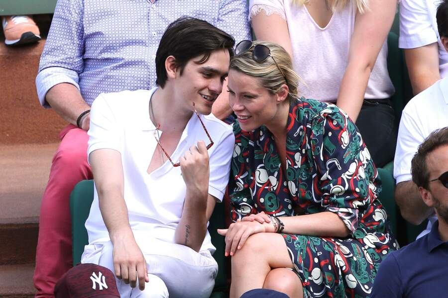 Alain-Fabien Delon et Kiera Chaplin en pleines confidences