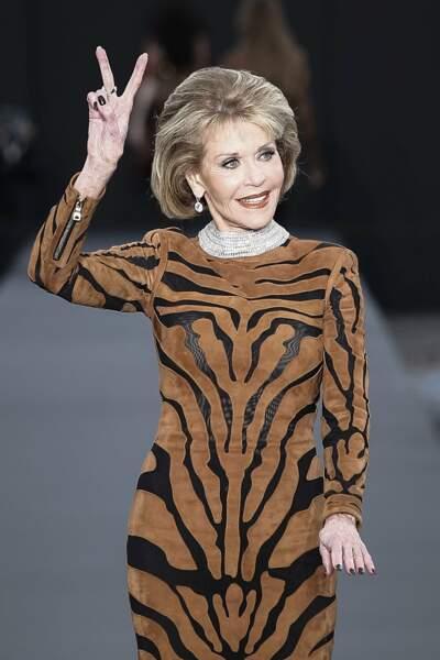 Clou du show :  Jane Fonda