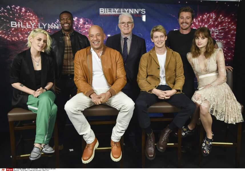 Kristen Stewart, Chris Tucker, Vin Diesel, Steve Martin, Joe Alwyn, Garrett Hedlund et Makenzie Leigh