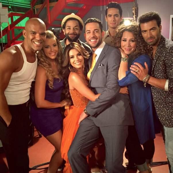 Eva Longoria et ses collègues tournent Hot and Bothered, nouvelle série à venir de NBC