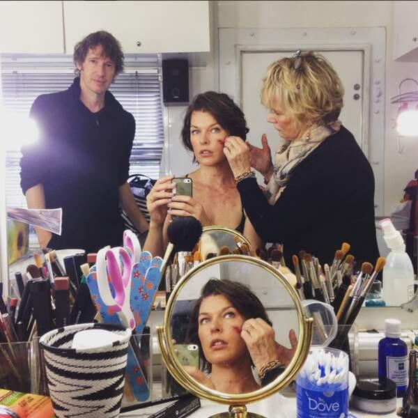 Test maquillage...