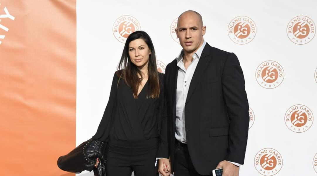 Sergio Parisse et Silvia Bragazzi sa compagne