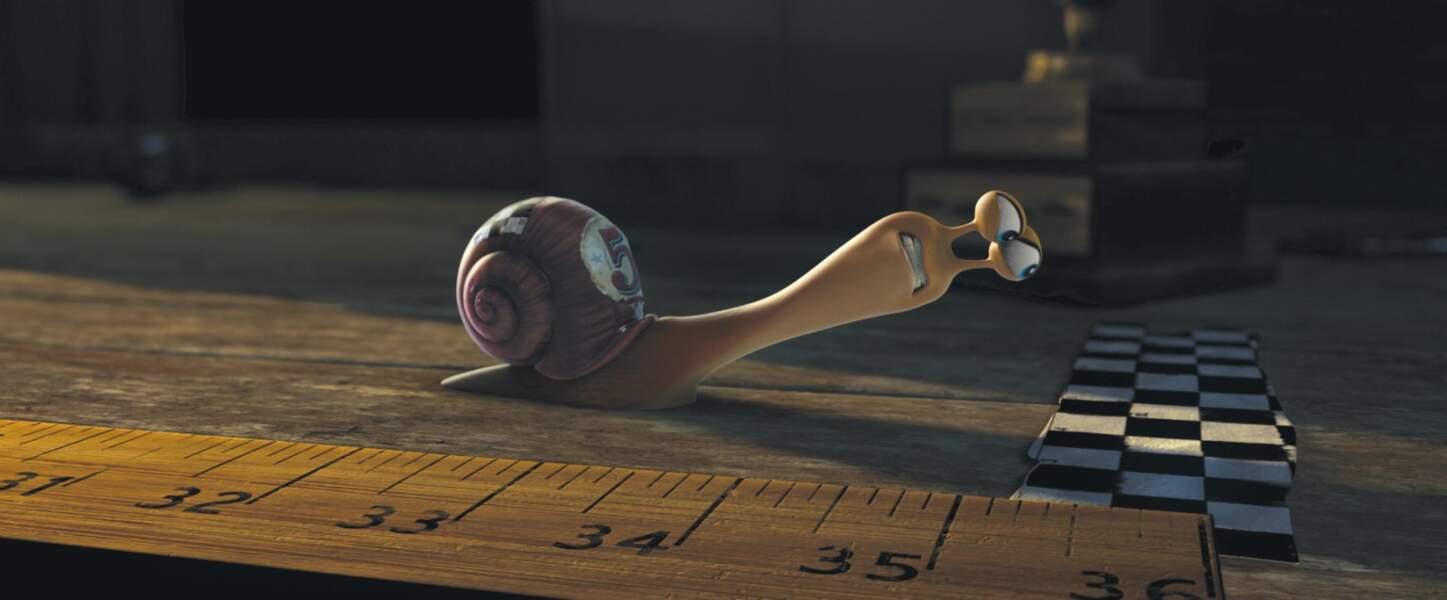 Le pitch ? Un escargot rêve de devenir le spécimen le plus rapide du monde. Un rêve qui devient réalité