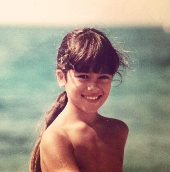 A 8 ans, elle était déjà une petite Lolita