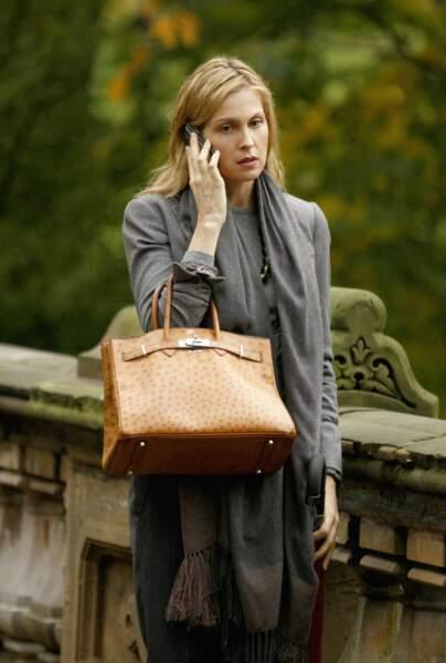 Kelly Rutherford incarnait Lily Van Der Woodsen, la mère de Serena