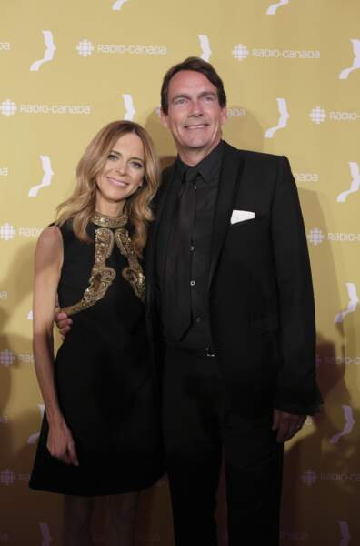 La présentatrice Julie Snyder et Pierre-Karl Peladeau, mariés depuis 2015.