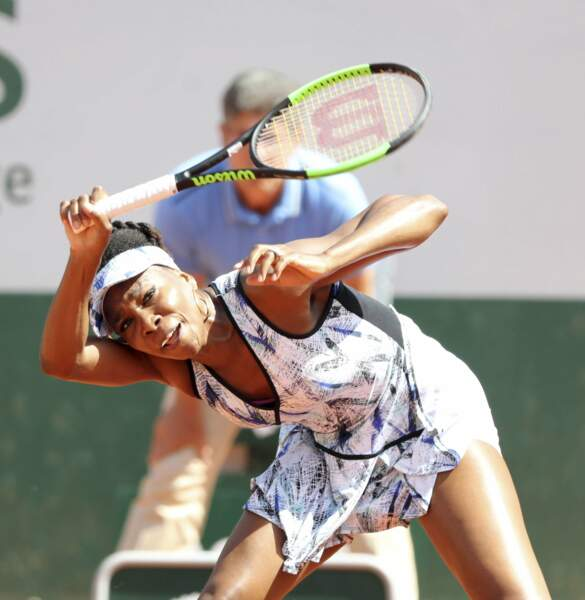 Venus Williams cherchait-elle à faire un dab ?