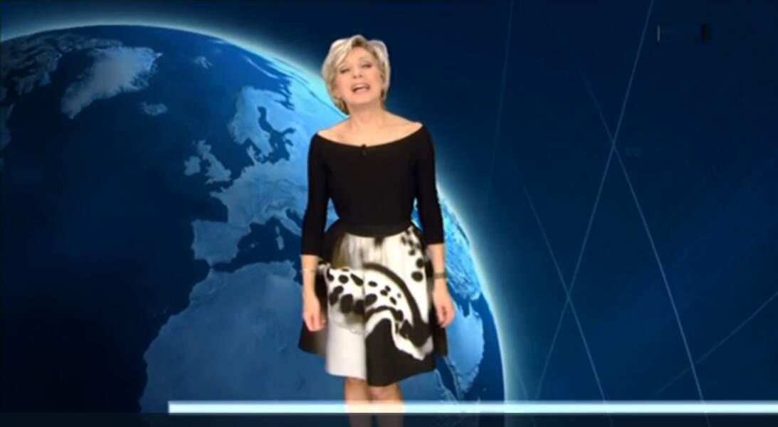 ... ou la jolie jupe d'Evelyne Dhéliat