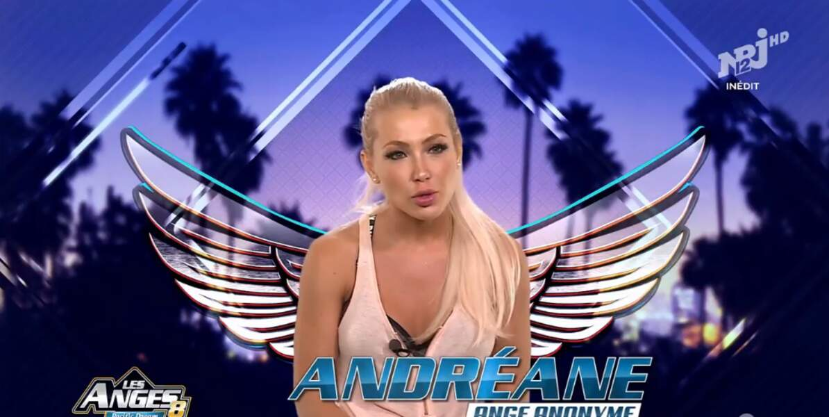 Alerte décolleté pour Andréane des Anges 8