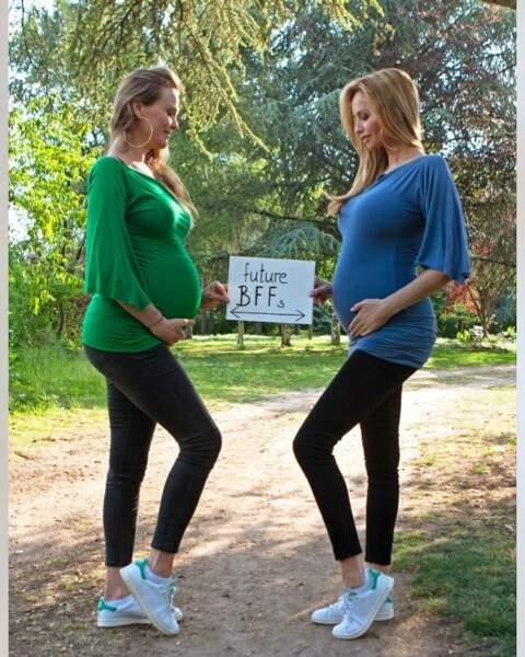 Natalia, la soeur d'Adriana, a donné naissance à une petite Stella née le 26 mai dernier