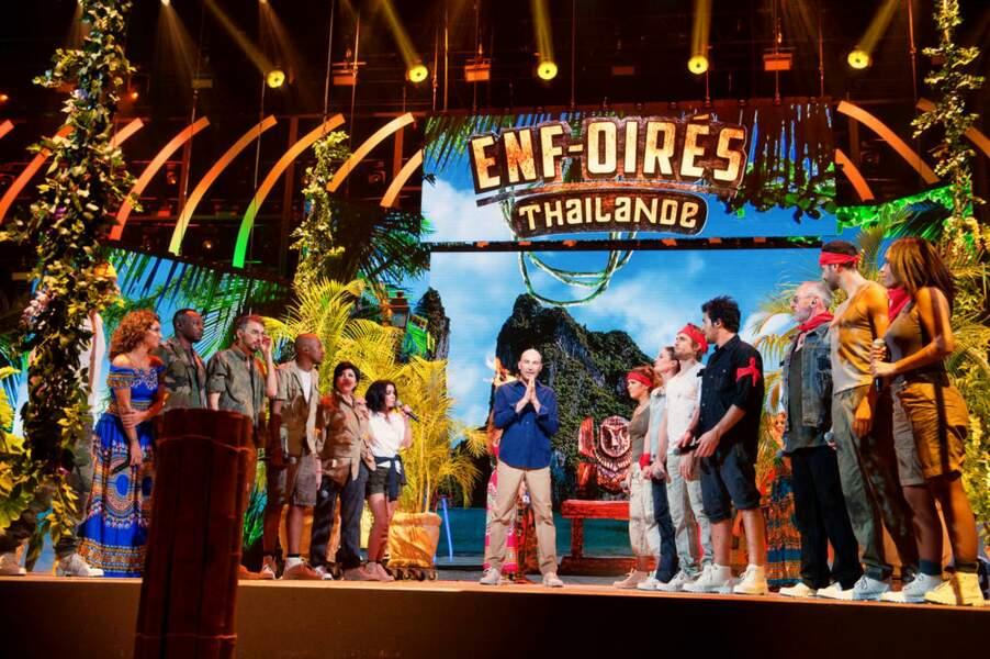 En 2018, les Enfoirés revisiteront la mythique émission de TF1, Koh-Lanta !