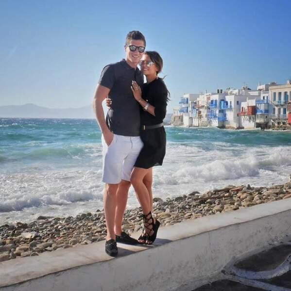 Robert Lewandowski aussi profite des vacances avec sa chère et tendre Anna