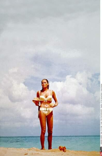 Ursula Andress (James Bond contre Dr No, 1963), une figure mythique !