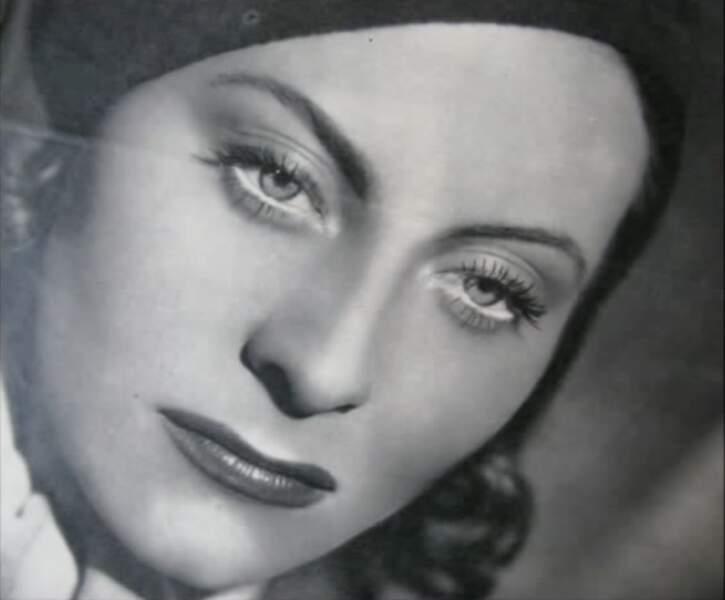 Michèle Morgan dans Quai des brumes
