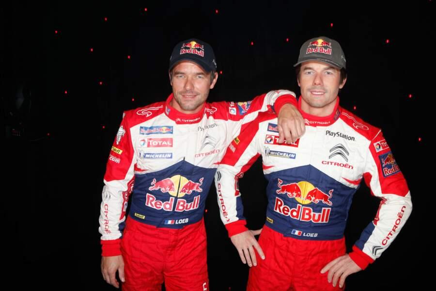 Même combinaison pour Sébastien Loeb