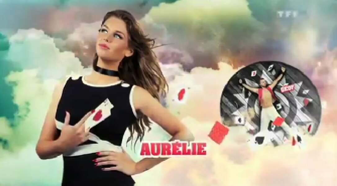 """Aurélie (Saison 5). Son secret : """"Nous formons un faux couple"""" (avec Geoffrey)"""