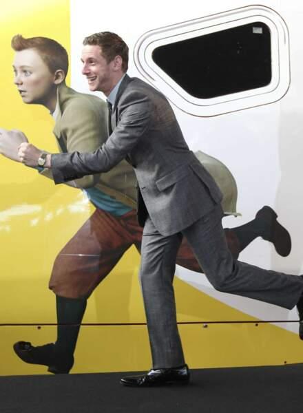 C'est Jamie Bell qui a joué toutes les scènes de Tintin