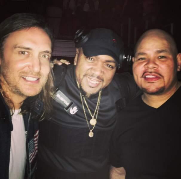 David Guetta, Timbaland et... FAT JOE ?! Vous vous souvenez de lui ?