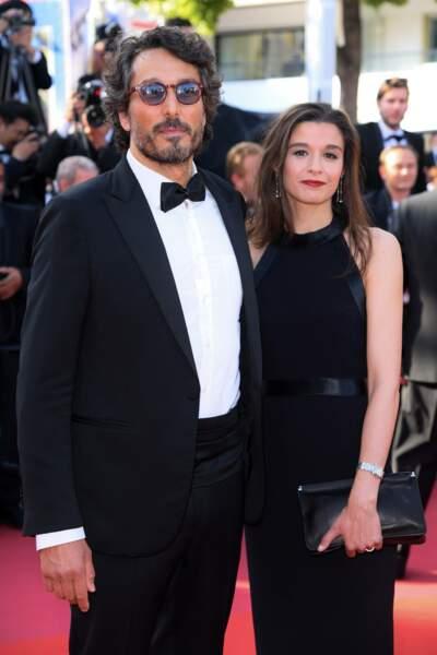 Vincent Elbaz et son épouse Fanny Conquy