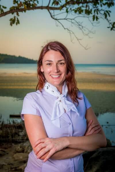 Julie, candidate de Koh-Lanta : l'île au trésor