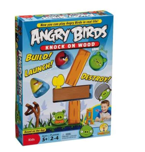 Jeu de construction (et de destruction) Angry Birds
